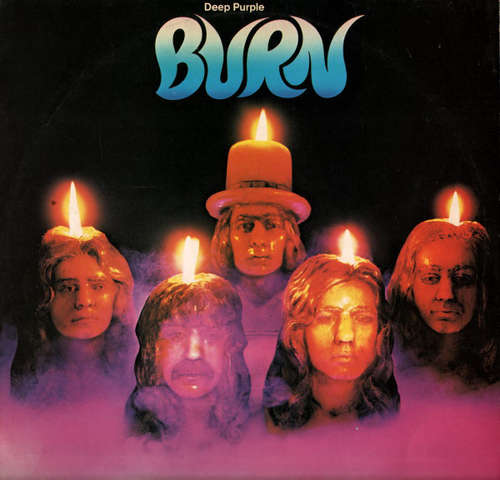 Cover Deep Purple - Burn (LP, Album, RE) Schallplatten Ankauf