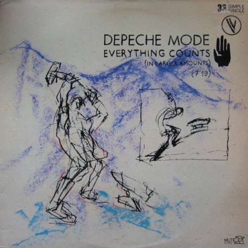 Cover Depeche Mode - Everything Counts (In Larger Amounts) (12, Maxi) Schallplatten Ankauf