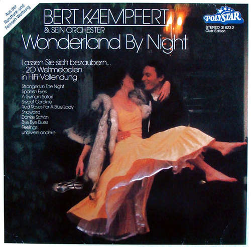 Cover Bert Kaempfert & Sein Orchester* - Wonderland By Night (LP, Comp, Club) Schallplatten Ankauf