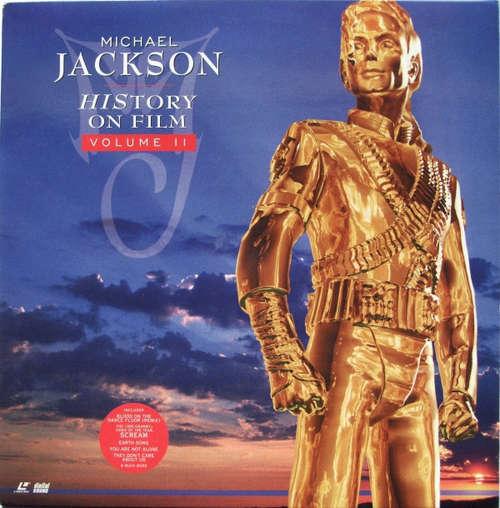 Cover Michael Jackson - HIStory On Film Volume II (Laserdisc, Dou) Schallplatten Ankauf