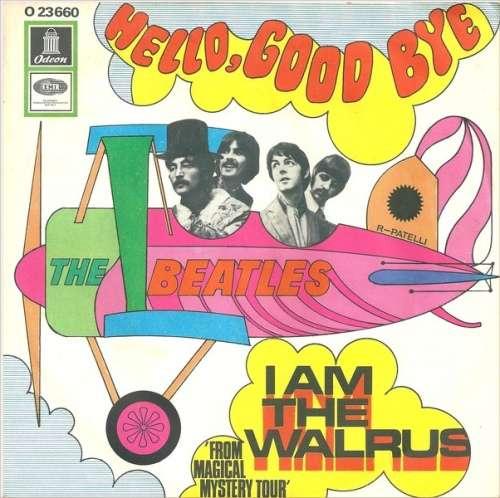 Cover The Beatles - Hello, Goodbye / I Am The Walrus (7, Single, A1A) Schallplatten Ankauf