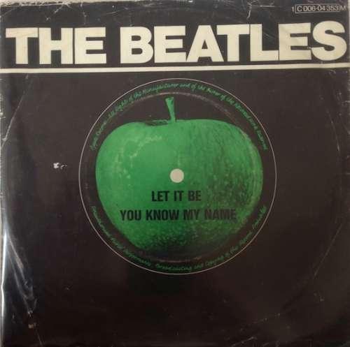 Cover Beatles, The - Let It Be (7, Single, RE, Mono) Schallplatten Ankauf