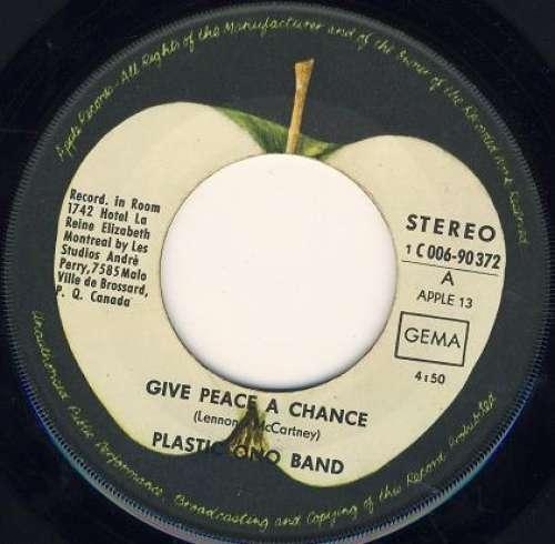 Bild Plastic Ono Band* - Give Peace A Chance / Remember Love (7, Single) Schallplatten Ankauf
