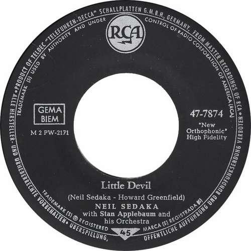 Bild Neil Sedaka With Stan Applebaum And His Orchestra - Little Devil (7, Single) Schallplatten Ankauf