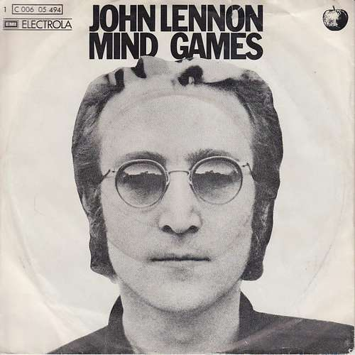 Bild John Lennon - Mind Games (7, Single) Schallplatten Ankauf