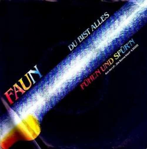 Cover zu Faun (16) - Du Bist Alles (7, Single) Schallplatten Ankauf