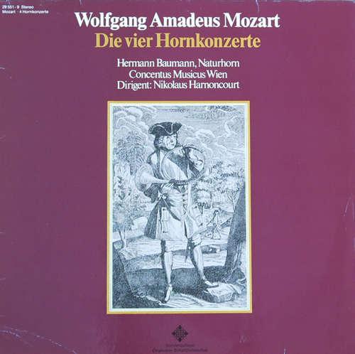 Bild Wolfgang Amadeus Mozart, Hermann Baumann, Concentus Musicus Wien, Nikolaus Harnoncourt - Die Vier Hornkonzerte (LP, Club) Schallplatten Ankauf