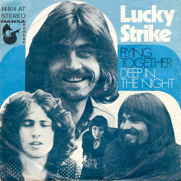 Cover Lucky Strike (3) - Flying Together / Deep In The Night (7, Single) Schallplatten Ankauf
