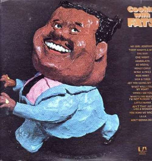 Bild Fats Domino - Cookin' With Fats (2xLP, Comp) Schallplatten Ankauf