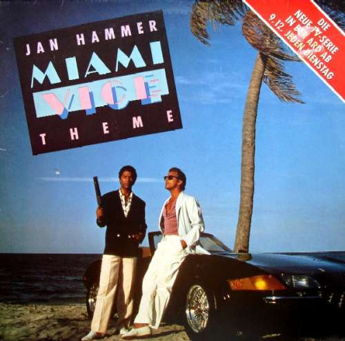 Bild Jan Hammer - Miami Vice Theme (12) Schallplatten Ankauf