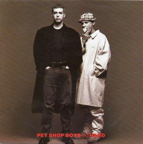 Cover Pet Shop Boys - So Hard (7, Single) Schallplatten Ankauf