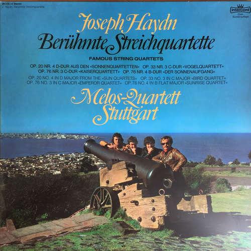 Cover zu Joseph Haydn - Melos-Quartett Stuttgart* - Berühmte Streichquartette / Famous String Quartets - (2xLP, Club) Schallplatten Ankauf