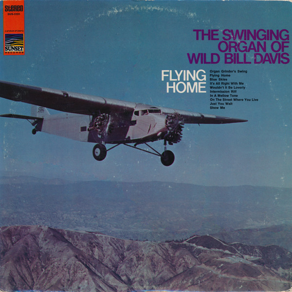 Cover Wild Bill Davis - Flying Home (LP, Album) Schallplatten Ankauf