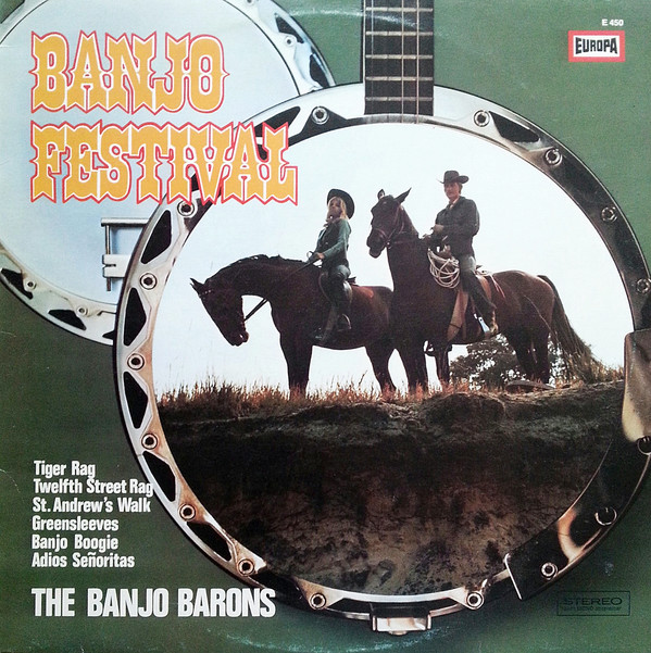 Bild The Banjo Barons (2) - Banjo Festival (LP, Album) Schallplatten Ankauf
