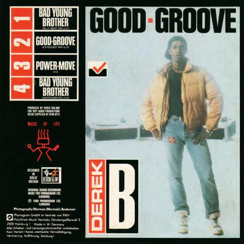 Cover zu Derek B - Good Groove / Bad Young Brother (CD, Maxi) Schallplatten Ankauf