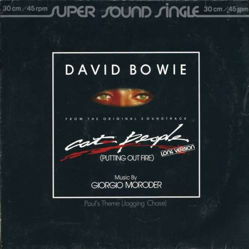Cover David Bowie - Cat People (Putting Out Fire) (Long Version) (12, Single) Schallplatten Ankauf