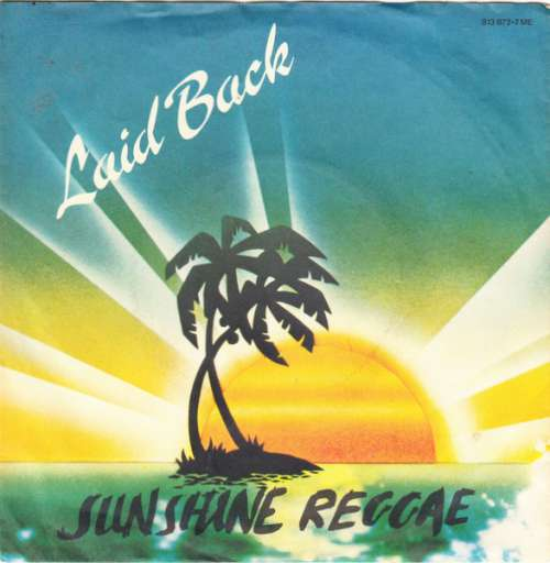 Cover zu Laid Back - Sunshine Reggae (7, Single) Schallplatten Ankauf
