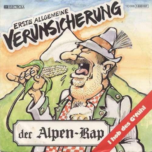 Cover Erste Allgemeine Verunsicherung* - Der Alpen-Rap (7, Single) Schallplatten Ankauf
