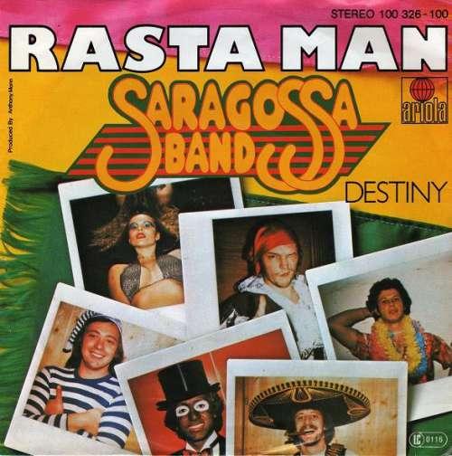 Cover zu Saragossa Band - Rasta Man (7, Single) Schallplatten Ankauf