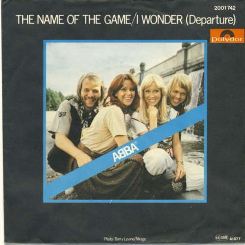 Cover zu ABBA - The Name Of The Game (7, Single) Schallplatten Ankauf