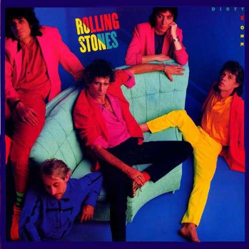 Cover Rolling Stones* - Dirty Work (LP, Album) Schallplatten Ankauf