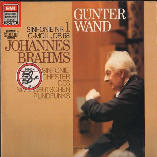 Bild Johannes Brahms, Günter Wand, Sinfonie-Orchester Des Norddeutschen Rundfunks* - Sinfonie Nr. 1 C-moll, Op. 68 (LP, Club) Schallplatten Ankauf