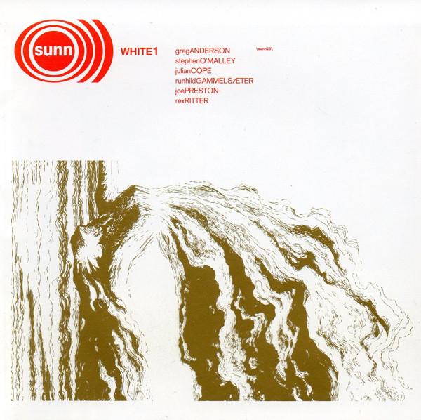 Cover Sunn O))) - White1 (CD, Album) Schallplatten Ankauf