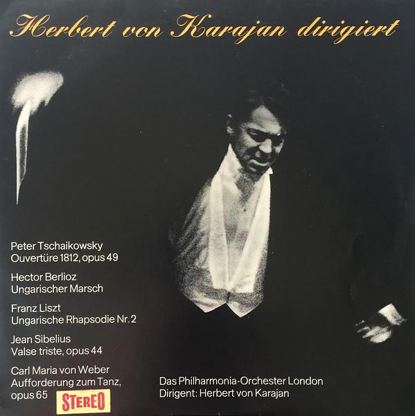 Bild Herbert von Karajan Dirigiert Das Philharmonia Orchester London* - Herbert Von Karajan Dirigiert Das Philharmonia Orchester London (LP) Schallplatten Ankauf