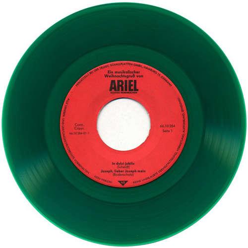 Cover Various - Ein Musikalischer Weihnachtsgruß Von Ariel Echtes Reinweichen (7, Promo, Gre) Schallplatten Ankauf