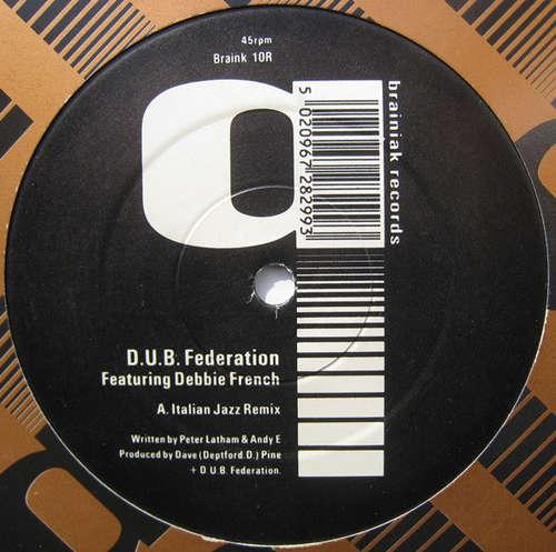 Bild D.U.B. Federation* Featuring Debbie French - Italian Jazz Remix (12) Schallplatten Ankauf