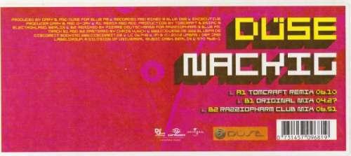 Bild Düse - Nackig (12) Schallplatten Ankauf
