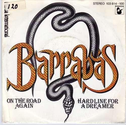 Cover zu Barrabas - On The Road Again / Hard Line For A Dreamer (7, Single) Schallplatten Ankauf