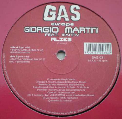 Bild Giorgio Martini feat. Manny (9) - Alien (12) Schallplatten Ankauf