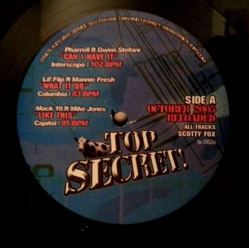 Cover Various - Top Secret! - October 2005 Reloaded!  (12) Schallplatten Ankauf