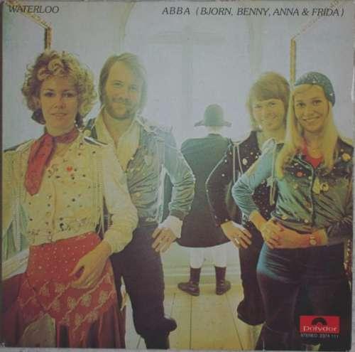Cover ABBA, Björn, Benny, Anna & Frida* - Waterloo (LP, Album) Schallplatten Ankauf