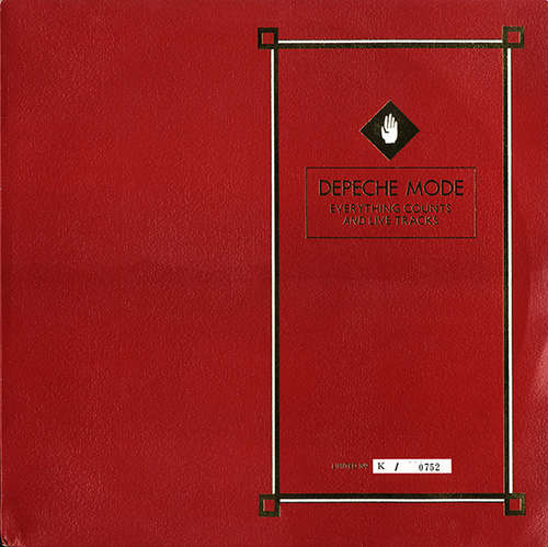 Cover Depeche Mode - Everything Counts And Live Tracks (12, Single, Ltd, Num) Schallplatten Ankauf