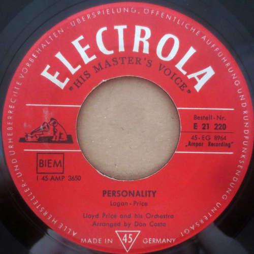 Bild Lloyd Price And His Orchestra - Personality (7) Schallplatten Ankauf