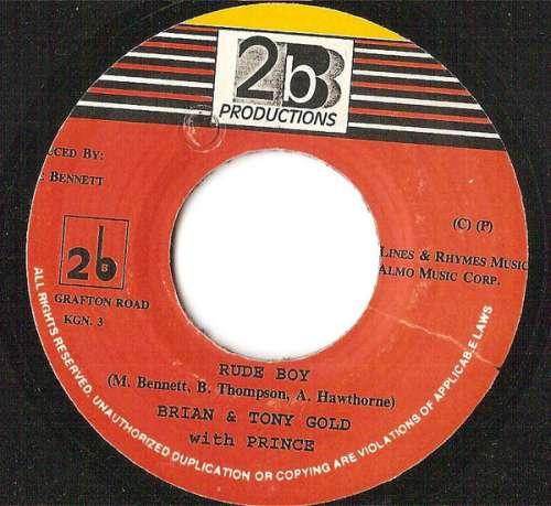 Cover zu Brian & Tony Gold - Rude Boy (7) Schallplatten Ankauf