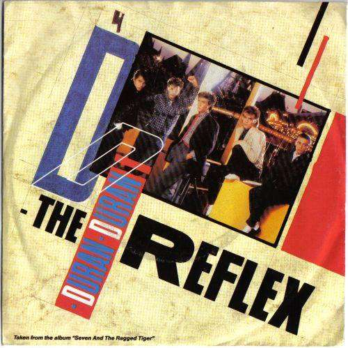Cover Duran Duran - The Reflex (7, Single) Schallplatten Ankauf
