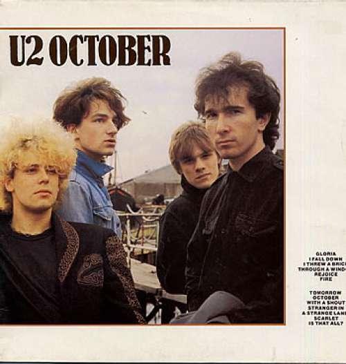 Bild U2 - October (LP, Album) Schallplatten Ankauf