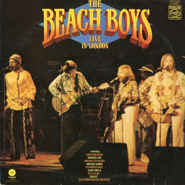 Bild The Beach Boys - Live In London (LP, Album, RE) Schallplatten Ankauf