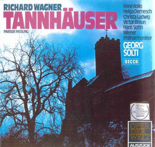 Bild Richard Wagner - Tannhäuser (Pariser Fassung) Auszüge (LP) Schallplatten Ankauf