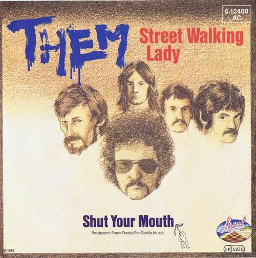 Bild Them (3) - Street Walking Lady (7, Single) Schallplatten Ankauf