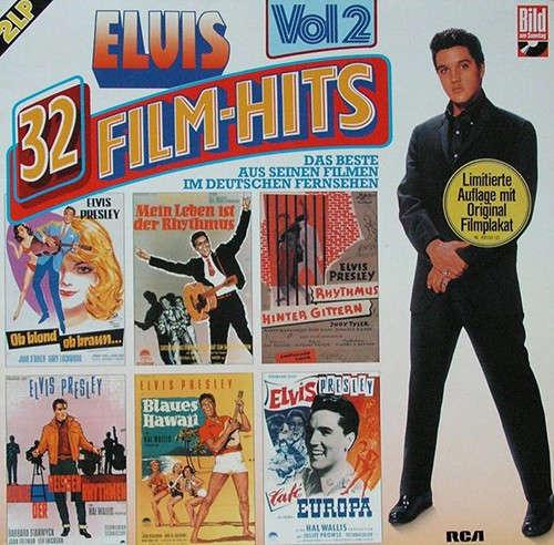 Cover Elvis Presley - 32 Film-Hits Vol 2 (2xLP, Comp) Schallplatten Ankauf