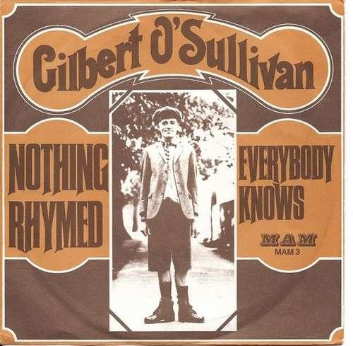 Bild Gilbert O'Sullivan - Nothing Rhymed / Everybody Knows (7) Schallplatten Ankauf