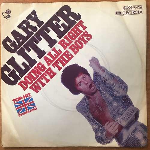 Bild Gary Glitter - Doing All Right With The Boys (7, Single) Schallplatten Ankauf