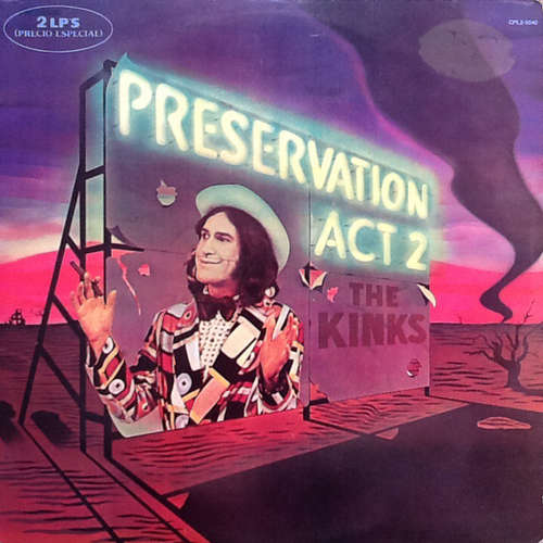 Cover The Kinks - Preservation Act 2 (2xLP, Album, Gat) Schallplatten Ankauf