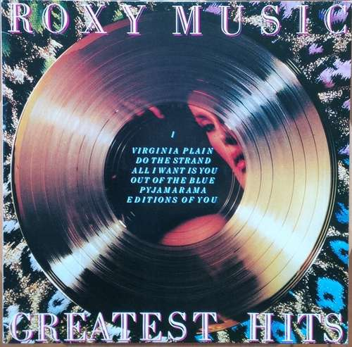 Cover Roxy Music - Greatest Hits (LP, Comp, RE) Schallplatten Ankauf