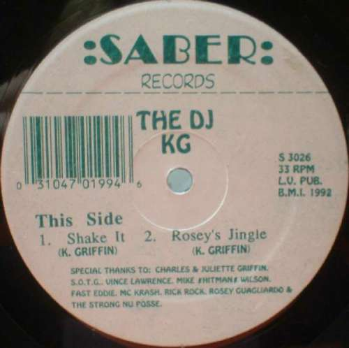 Cover zu The DJ KG - Shake It (12) Schallplatten Ankauf