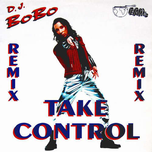 Cover DJ BoBo - Take Control (Remix) (12) Schallplatten Ankauf